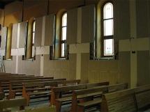 ogrzewanie w kościele
